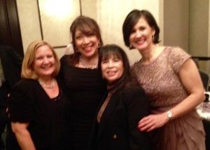 Isabel Cabrera, AT&T, Linda Perez, Dr. Ivonne Diaz Ciase, CEO & President of HISPA